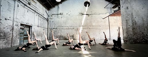 New York City Dancers perform contemporary jazz choreography