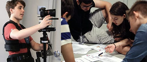 High School Film Students Filmmaking Camps