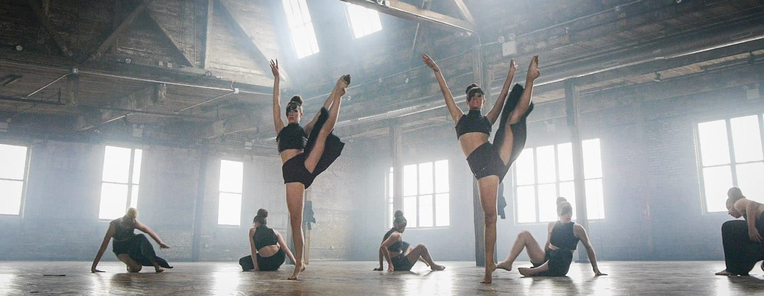 Contemporary Jazz Dancers perform for Summer Dance Video in New York City