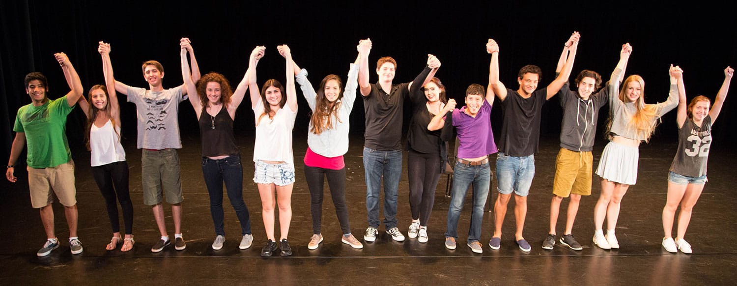 Teen Actor Performing in Summer Acting Camps