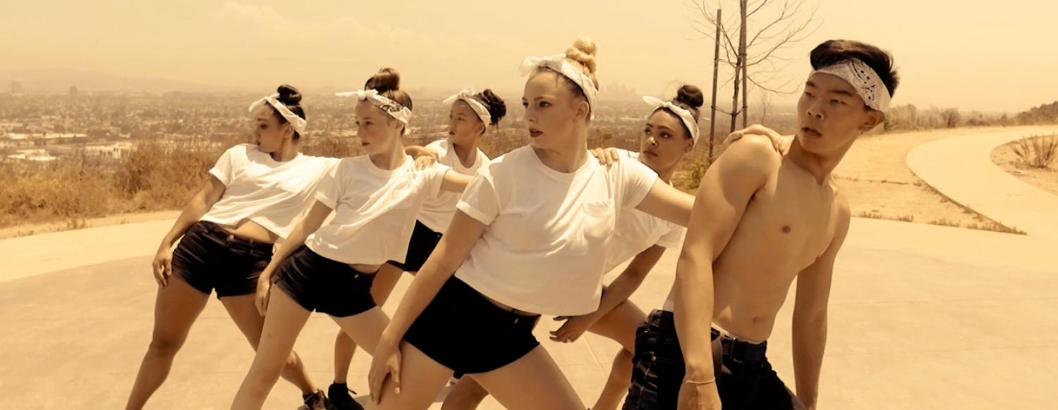Teens create awesome Hip Hop dance video in Los Angeles Summer Dance Camp
