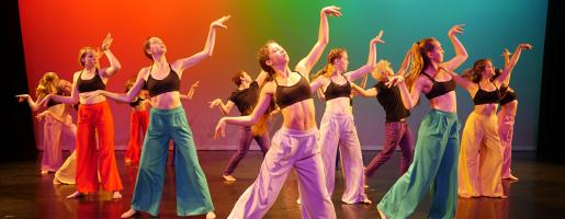 SOCAPA Dancers perform for the final showcase