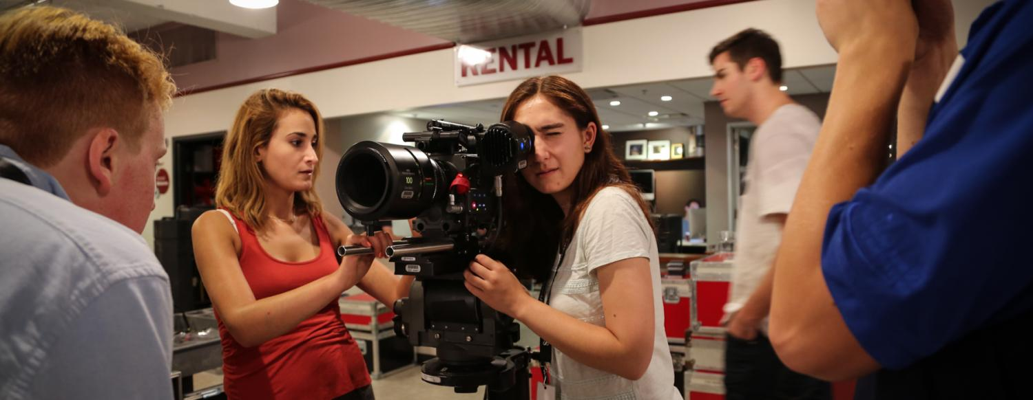 Film making teen